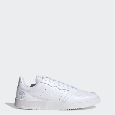 Men Originals White Supercourt Shoes