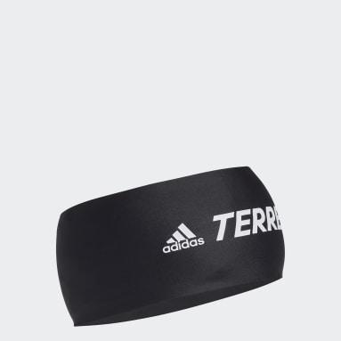 TERREX černá Čelenka Terrex Primeblue Trail