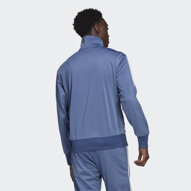 Men Originals Blue Adicolor Classics Firebird Track Top