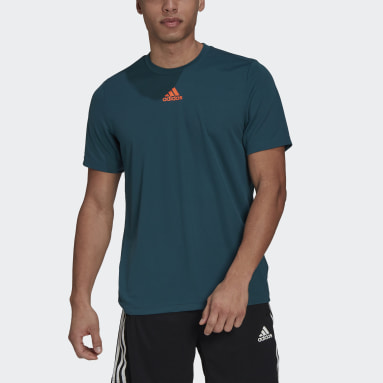 Men's Training Turquoise Sportphoria AEROREADY Graphic Tee