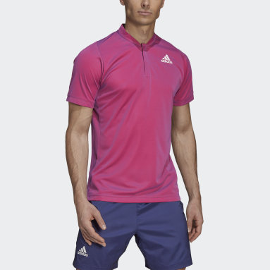 Herr Tennis Lila Tennis  Primeblue Freelift Polo Shirt