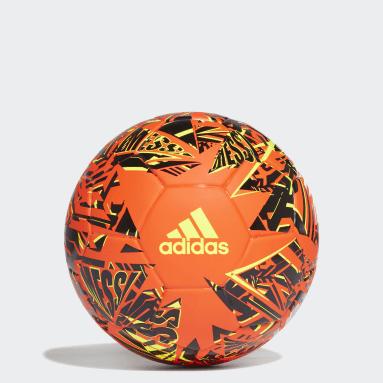 Mini ballon Messi Orange Football