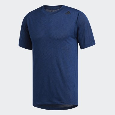 Camiseta FreeLift Tech Climalite Fitted Azul Hombre Hockey Hierba