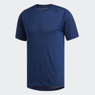 T-shirt FreeLift Tech Climalite Fitted Bleu Hommes Handball