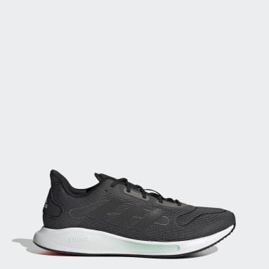 Men Running Grey Galaxar Run Shoes