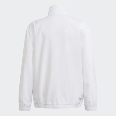 Youth 8-16 Years Winter Sports White Aaron Kai Windbreaker