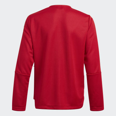 Veste de survêtement Tiro 21 rouge Adolescents Soccer