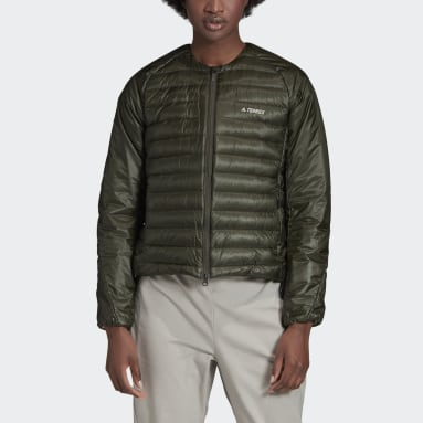 Women TERREX Green Terrex Hike Bomber Down Jacket