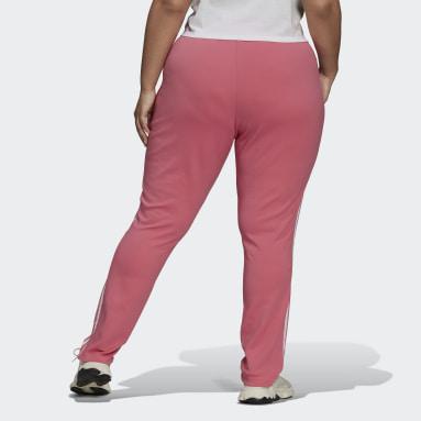 Ženy Originals ružová Tepláky Primeblue SST (Plus Size)