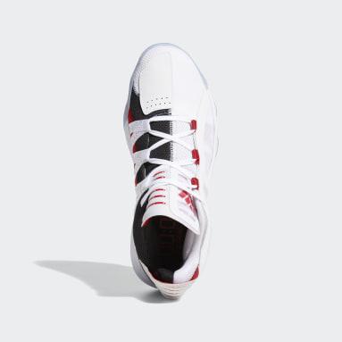 Zapatillas de básquet Dame 6 Blanco Hombre Basketball
