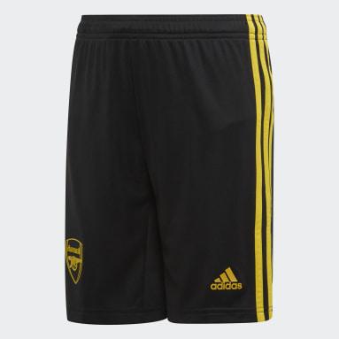 Jongens Voetbal Zwart Arsenal Derde Short