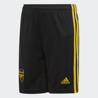 Pantalón corto tercera equipación Arsenal Negro Niño Fútbol