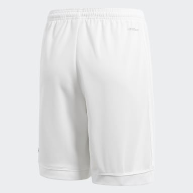 Youth Soccer White Squadra 17 Shorts
