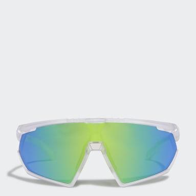Lunettes de soleil Sport SP0001 Blanc Padel Tennis