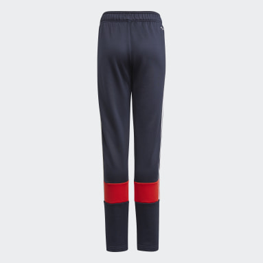 Boys Gym & Träning Blå 3-Stripes AEROREADY Primeblue Pants