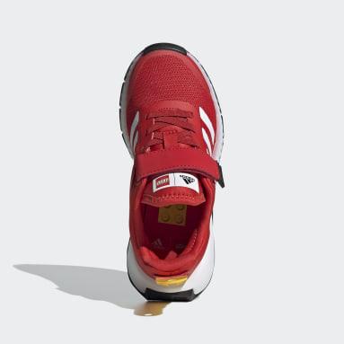 Çocuklar Koşu Kırmızı adidas x LEGO® Sport Ayakkabı