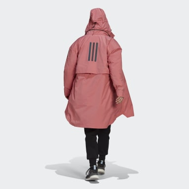 Frauen City Outdoor MYSHELTER 4IN1 Parka Rosa