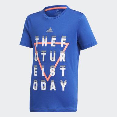 Boys Studio Blue XFG AEROREADY T-Shirt