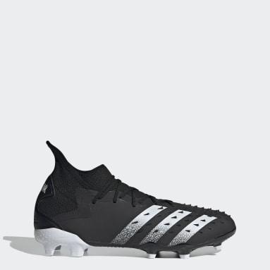 Football Black Predator Freak.2 Firm Ground Boots