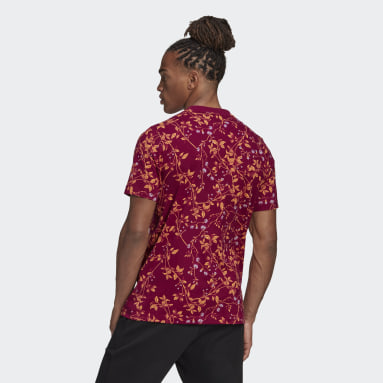 Playera Must Haves Estampada Granate Hombre Sportswear