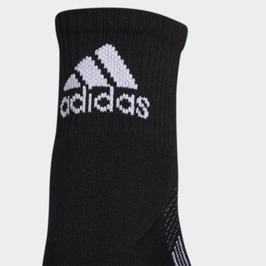 Women's Running Black Superlite Quarter Socks 2 Pairs