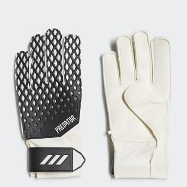 Youth Soccer Black Predator 20 Training Gloves