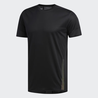 Remera 25/7 Rise Up N Run Parley Negro Hombre Running