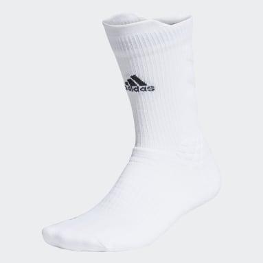 Calcetines Clásicos Alphaskin (UNISEX) Blanco Tenis