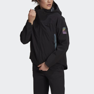 Frauen City Outdoor MYSHELTER Regenjacke Schwarz