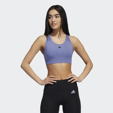Women Gym & Training Purple Ultimate Alpha Bra