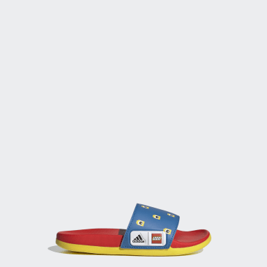 Kids Swimming Blue adidas Adilette Comfort x LEGO® Kids Slides