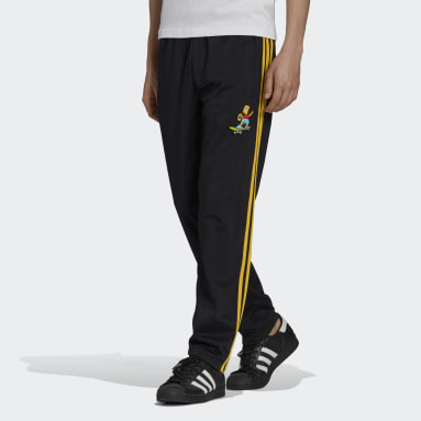 Men Originals Black The Simpsons Firebird Track Pants