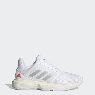 Women Tennis White CourtJam Bounce Shoes