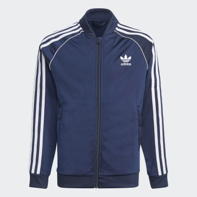 Kids Originals Blue Adicolor SST Track Top