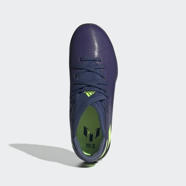 Zapatos de Fútbol Nemeziz Messi 19.3 Césped Artificial (UNISEX) Azul Niño Fútbol