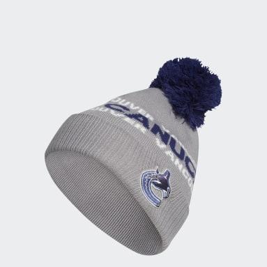 Bonnet Canucks Cuffed Knit Pom multicolore Hommes Hockey