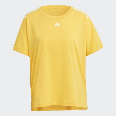 Women Sportswear Yellow OSR W 3S TEE