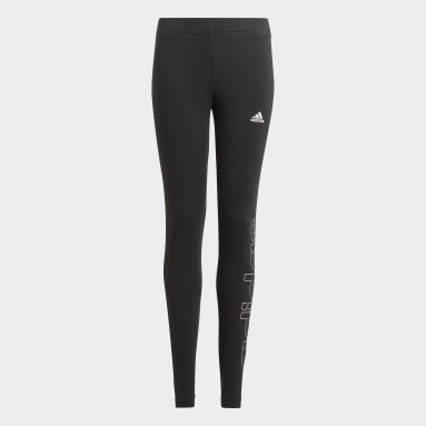 Girls Sport Inspired Black adidas Essentials Tights