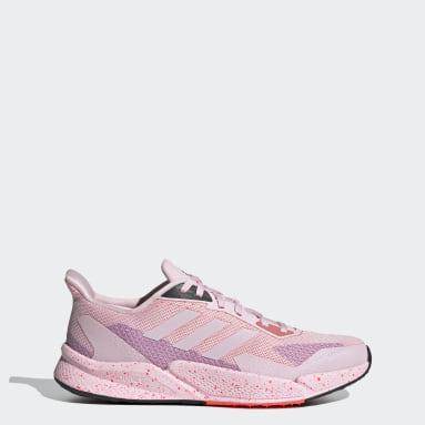 ผู้หญิง วิ่ง สีชมพู รองเท้า X9000L2