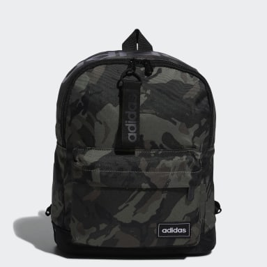 Women Essentials Green Classic Camo Backpack Small