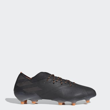 Soccer Black Nemeziz 19.1 Firm Ground Cleats