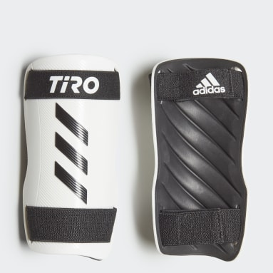 Football Black Tiro Training Shin Guards