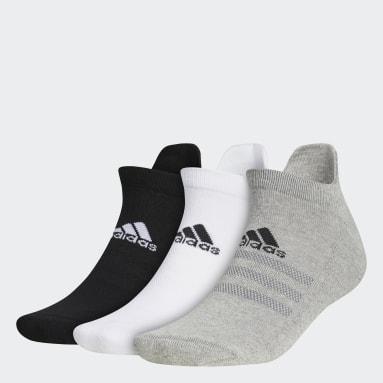Men Golf Grey Ankle Socks 3 Pairs