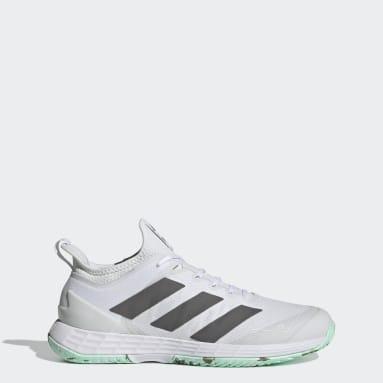 Sapatos de Ténis Parley Adizero Ubersonic 4 – Piso duro Branco Ténis