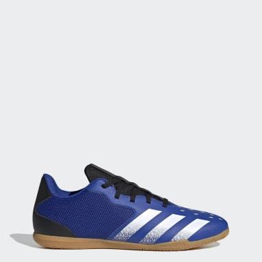 синий Футбольные бутсы (футзалки) Predator Freak.4 Sala