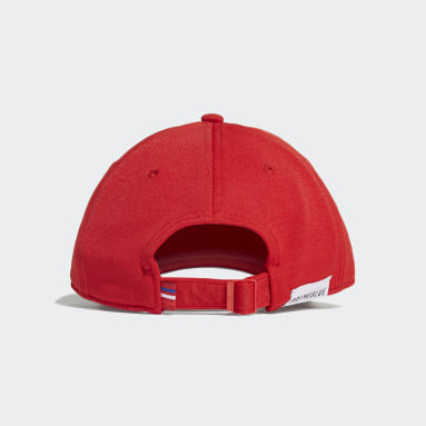 Originals สีแดง หมวกเบสบอลทรงคลาสสิก Trefoil