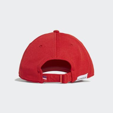Originals Kırmızı Baseball Classic Trefoil Şapka