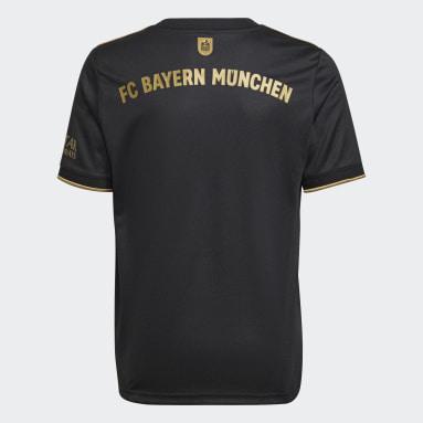 Maillot Extérieur FC Bayern 21/22 Noir Enfants Football