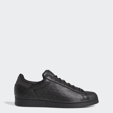 Sapatos Superstar Pharrell Williams Preto Originals