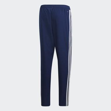 Men Gym & Training Blue Tiro 19 Woven Pants